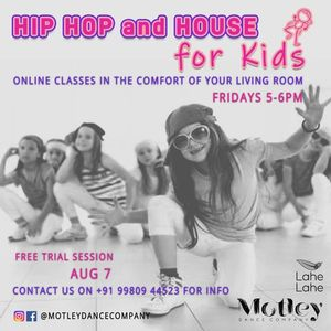 Hip Hop and House Dancing for Kids