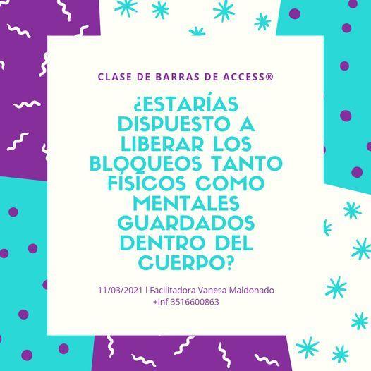 CLASE DE BARRAS DE ACCESS® con Certificación Internacional en Córdoba Capital | Event in Cosquín | AllEvents.in