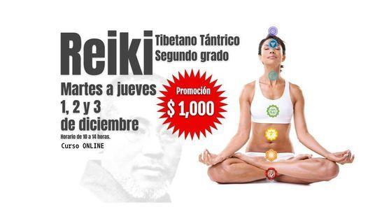 Segundo grado de Reiki Tibetano Tántrico | Online Event | AllEvents.in