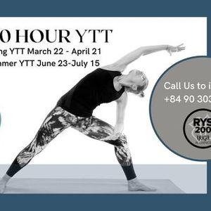 200 Hour Yoga for Wellness Training