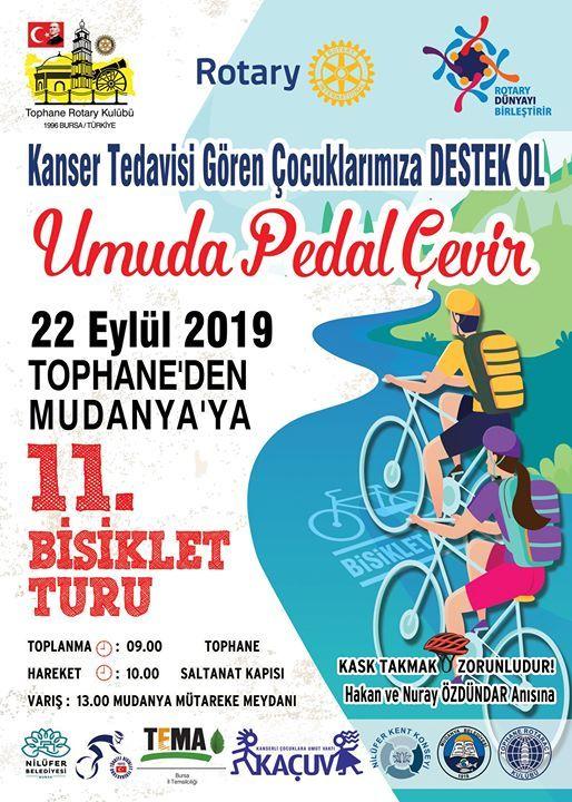 11. Tophaneden Mudanyaya Bisiklet Turu