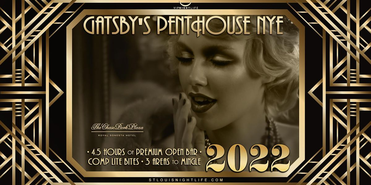 St. Louis New Year's Eve Party 2022 - Gatsby's Penthouse, 31 December | Event in St. Louis | AllEvents.in