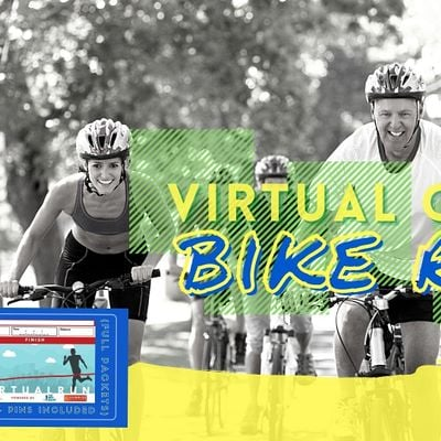 Keep Calm and Ride Virtual Cycling