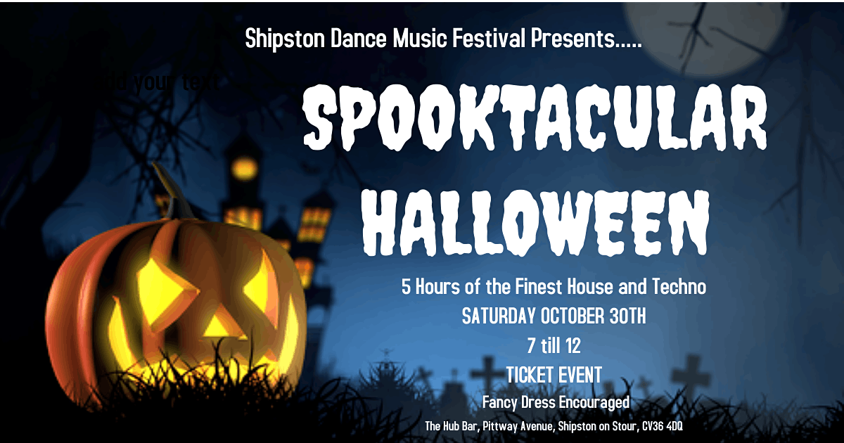 Shipston Dance Festival .. Spooktacular Halloween, 30 October | Event in Shipston-on-Stour | AllEvents.in