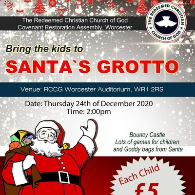 RCCG WORCESTER CHRISTMAS GROTTO