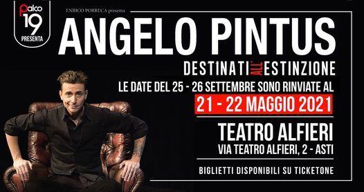 Angelo Pintus - Destinati allestinzione  2122 Maggio 2021