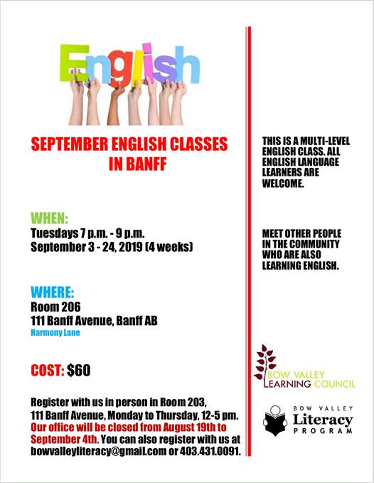 Multi Level English Class