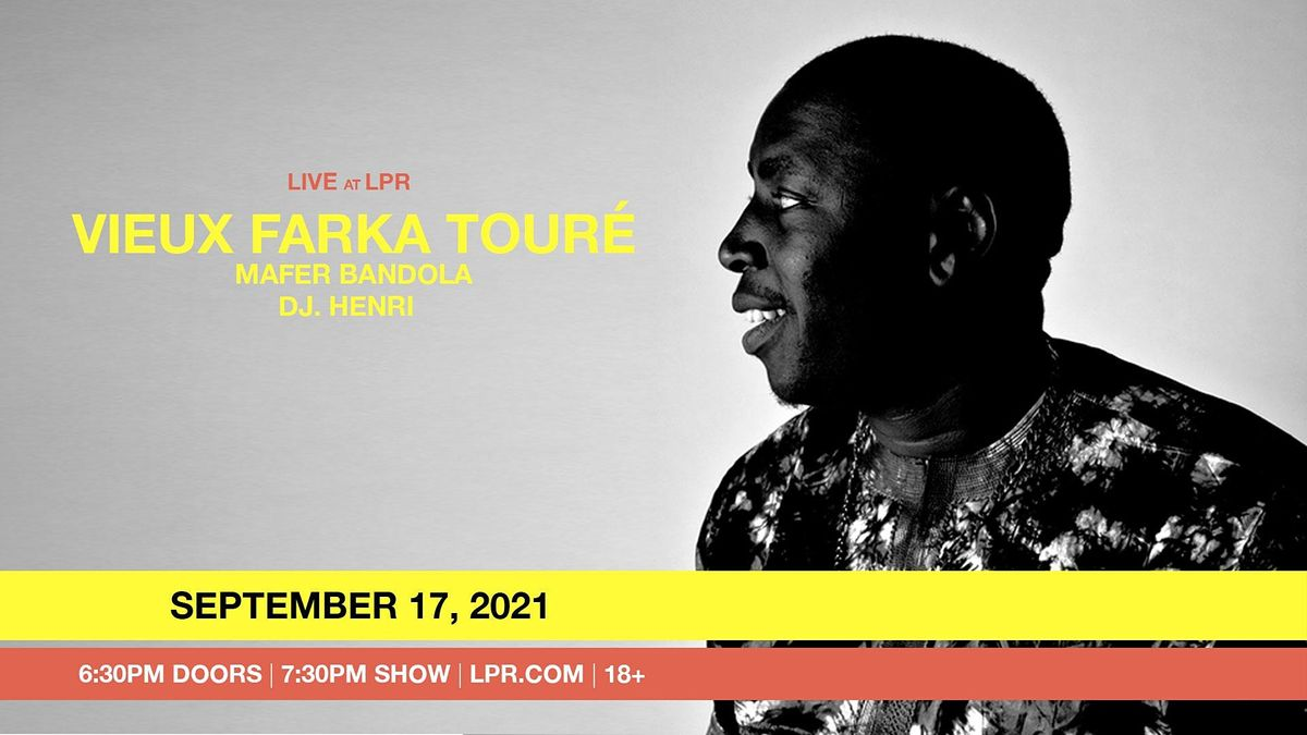 Vieux Farka Touré, 17 September | Event in New York | AllEvents.in