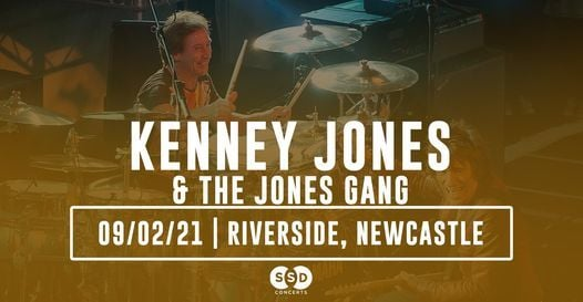 Kenney Jones & The Jones Gang - Live in Newcastle, 9 February   Event in Newcastle upon Tyne   AllEvents.in