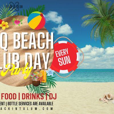 BBQ Beach Club Day Party