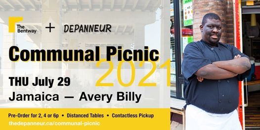COMMUNAL PICNIC: Jamaica   Avery Billy, 29 July   Event in Toronto   AllEvents.in