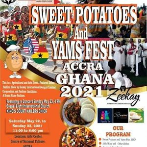 Zeekay International Designs and Sweet Potatoes Fest Accra Ghana