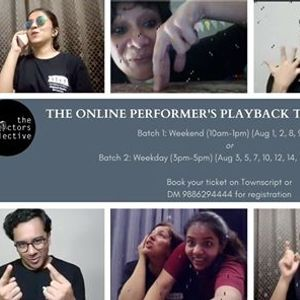 Online Playback Theater Weekday Workshop by The ActorsCollective