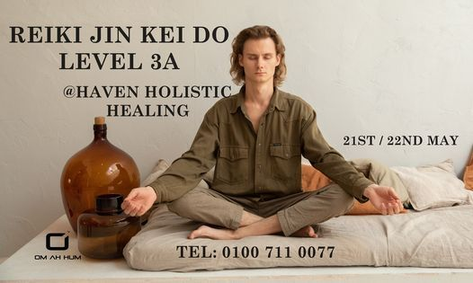 Reiki 3A with Steve Gooch, 21 May | Event in Zamalek | AllEvents.in