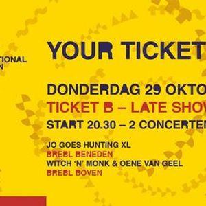 Dag 1 FJIN 2020 Ticket B  Jo Goes Hunting XL  Witch n Monk & Oene van Geel
