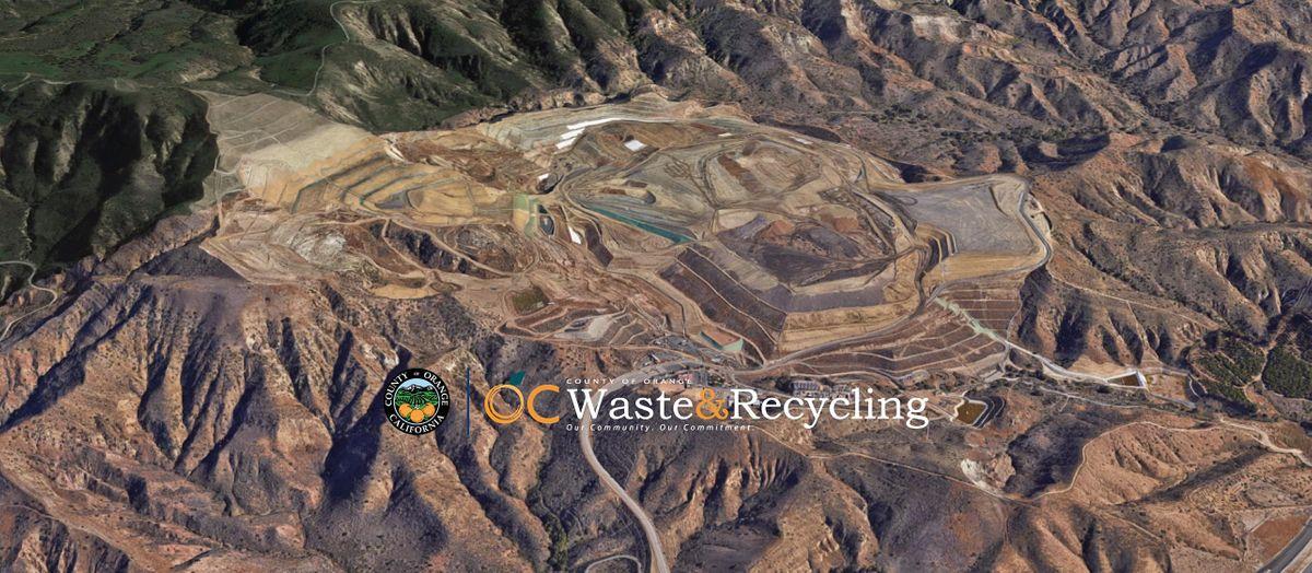 Frank R. Bowerman Landfill Tour - Irvine CA