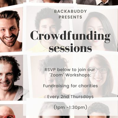 Online Crowdfunding Workshop Raising Funds for your Charity