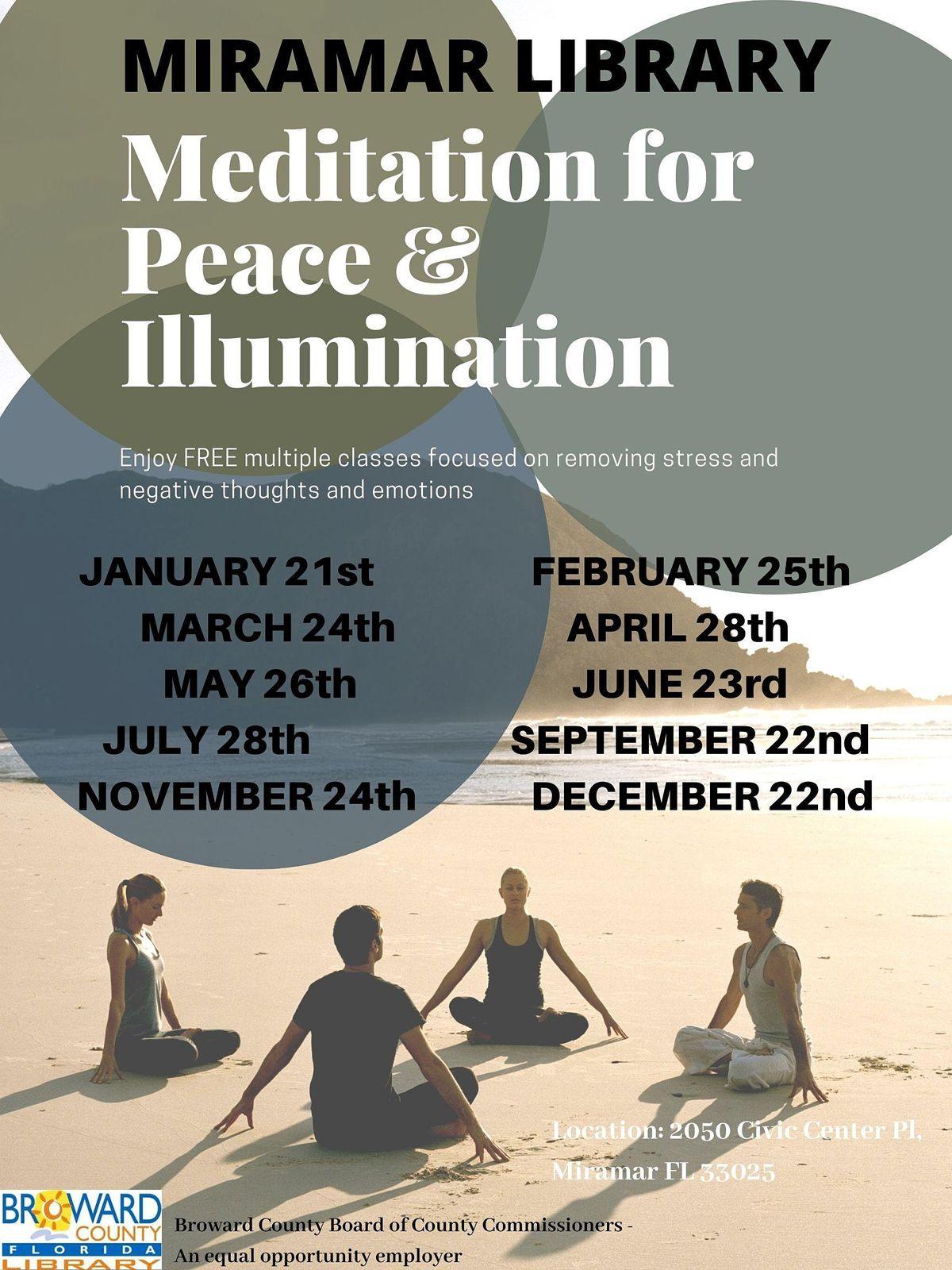 Meditation for Peace and Illumination