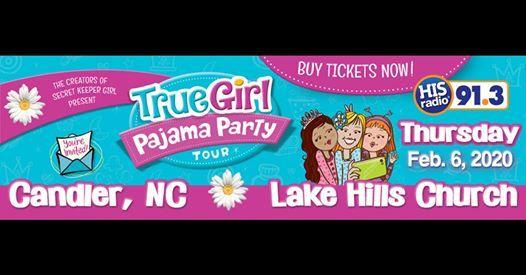 True Girl Pajama Party Tour - Candler NC