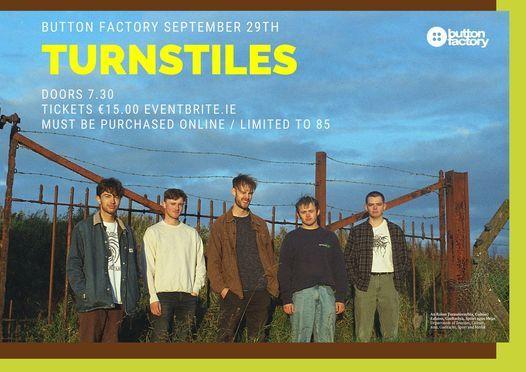 Turnstiles / Button Factory, 18 August | Event in Dublin | AllEvents.in