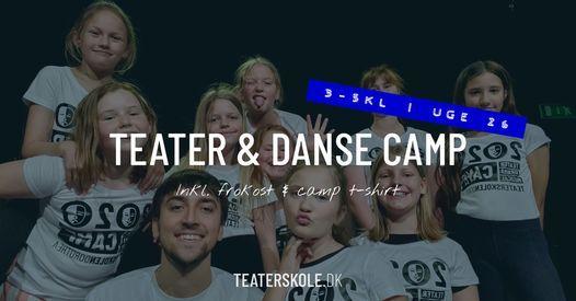 Teater & dansecamp ⎮ 3 - 5 kl ⎮ uge 26, 28 June   Event in Fredericia   AllEvents.in