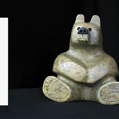 Bear Stone Carving Workshop with Vance Theoret - Make a Bear Sculpture