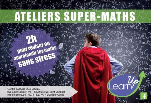Ateliers Super-Maths | Event in Woluwe-Saint-Lambert | AllEvents.in