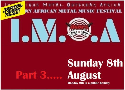 I.M.O.A part 3, 8 August   Event in Roodepoort   AllEvents.in
