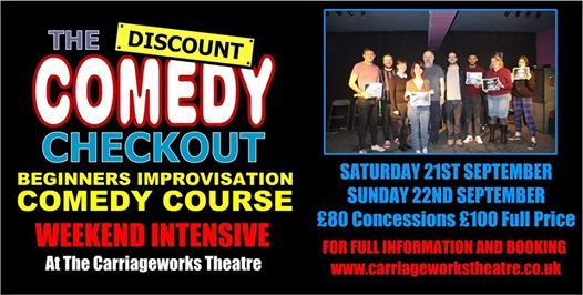 Adult Beginners Improvisation Comedy Course - Intensive Weekend