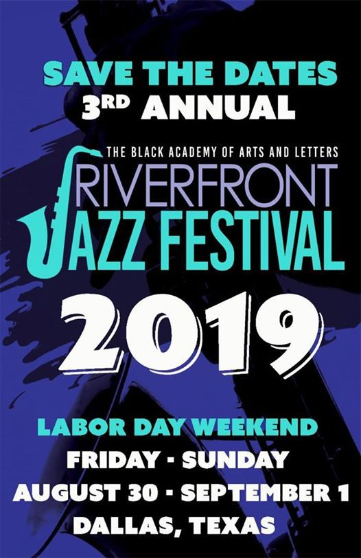 At the 3rd Annual Riverfront Jazz Festival Dallas TX.