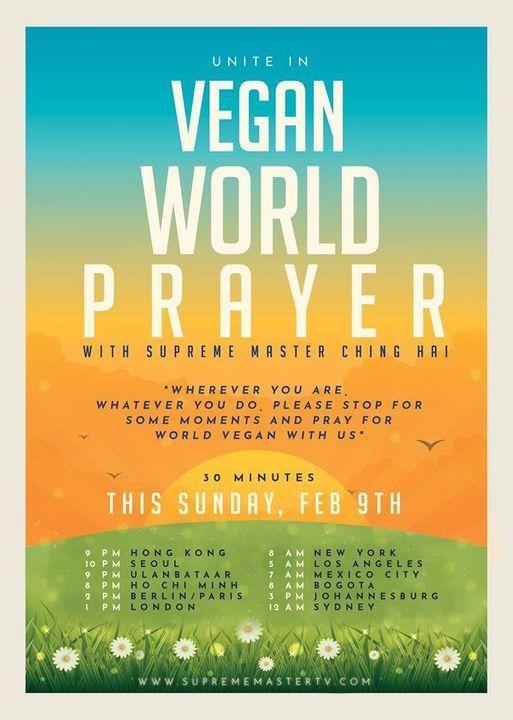 International Prayer/Mediatation for World Vegan World Peace | Event in Norcross | AllEvents.in