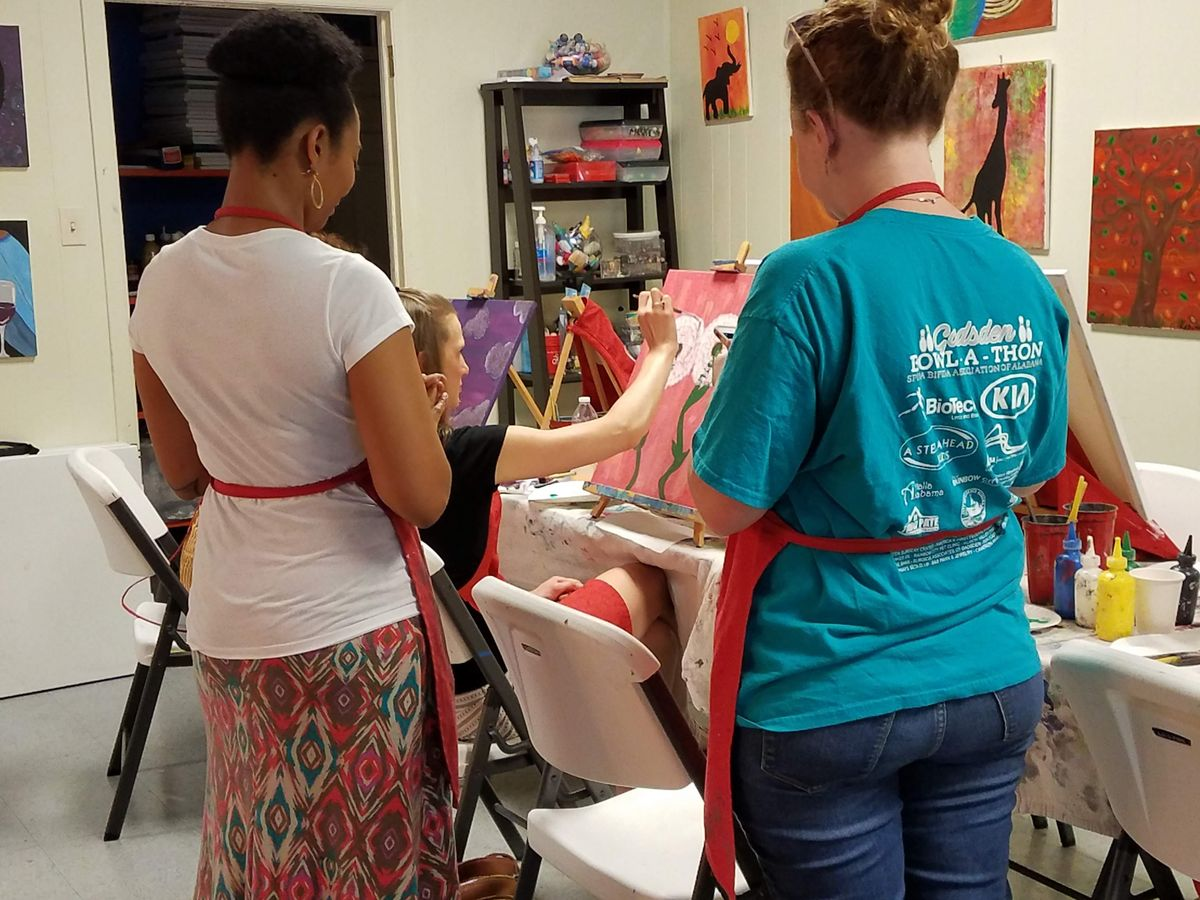 Paint and Sip Friday Events at Carolina Creative Expressions   Event in Rock Hill   AllEvents.in