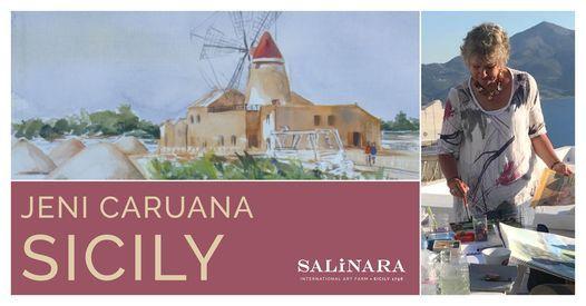 Jeni Caruana - Plein Air Watercolor, 10 October | Event in Marsala | AllEvents.in