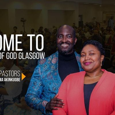 RCCG The City of God Glasgow In-Person Church Service Registration(ADULTS)
