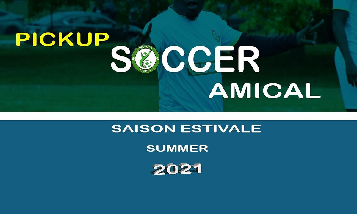 SOCCER AMICAL_ADULTE/ PICKUP SOCCER_ADULT   Event in Gatineau   AllEvents.in