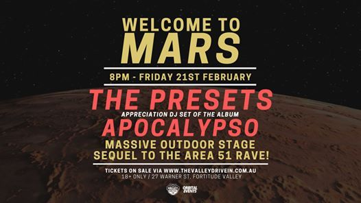 Welcome To Mars - Dance Party