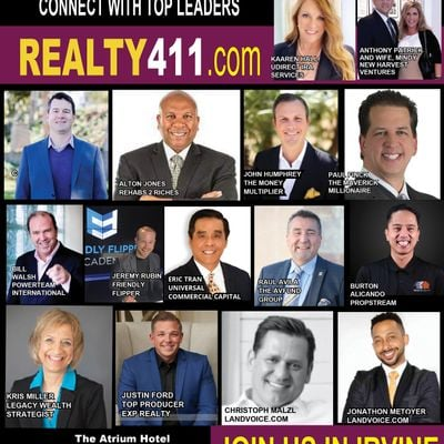 Realty411s Real Estate Investor Summit - Learn to Invest LIVE in Irvine