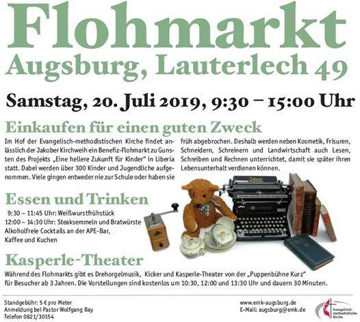 Flea Market Food Puppet Theatre At Evangelisch