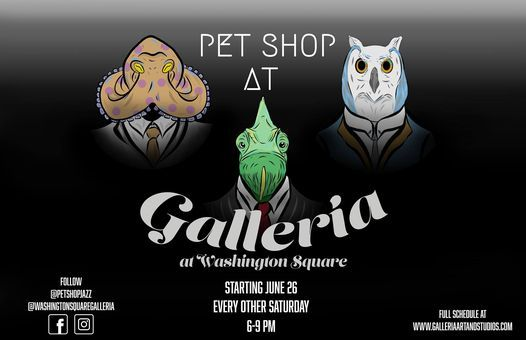 Pet Shop Jazz at Galleria!, 21 August | Event in Holland | AllEvents.in