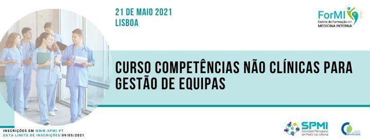 Curso Competências não Clínicas para Gestão de Equipas, 21 May | Event in Lisbon | AllEvents.in