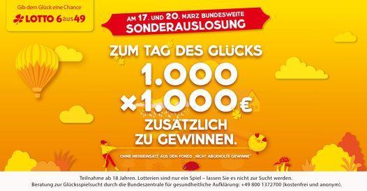 sonderauslosung lotto brandenburg