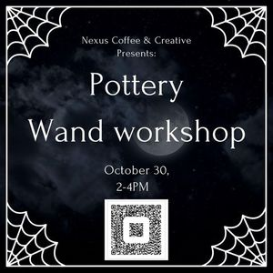 Pottery Wand Workshop with Rolling Hills Pottery