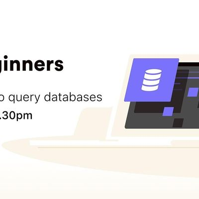 [Free workshop] Learn how to query databases with SQL
