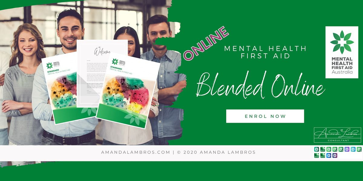 Mental Health First Aid Blended  - Online Training, 21 June | Online Event | AllEvents.in