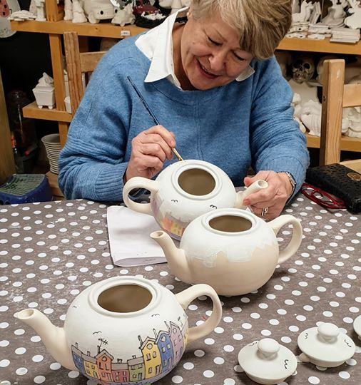 An Evening Of Paint Your Own Pottery Southborough