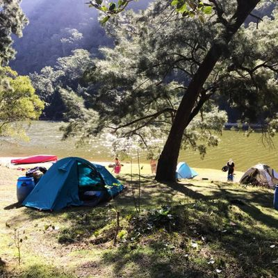Womens Overnight Canoe Trip Shoalhaven Gorge  21st - 22nd January