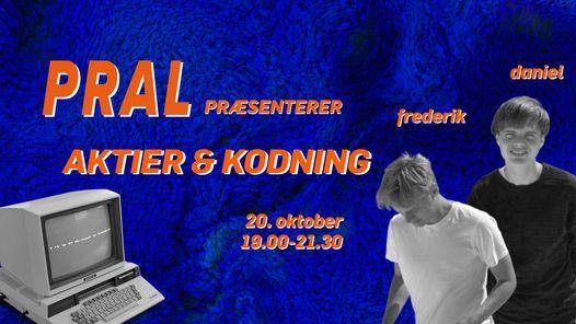 PRAL - Aktier og kodning - UDSOLGT, 20 October | Event in Copenhagen  | AllEvents.in