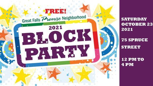 NJCDC's Great Falls Promise Neighborhood Block Party, 23 October   Event in Paterson   AllEvents.in