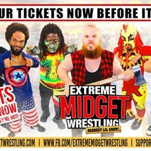 Extreme Midget Wrestling in Harrisburg PA at Harrisburg Midtown