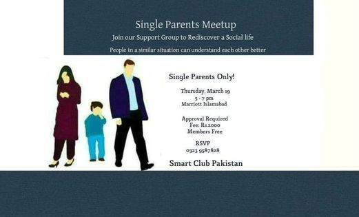Single Parents Meetup Islamabad, 19 November | Event in Islamabad | AllEvents.in